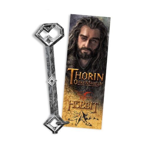C.N. Noble Collection NN1216 - Il Signore Degli Anelli: Penna e Segnalibro Chiave di Thorin