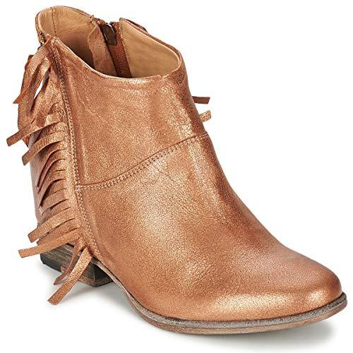 CATARINA MARTINS MAGGIORE Enkellaarzen/Low boots dames Roze/Metaal Enkellaarzen