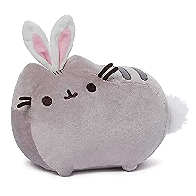 """GUND Pusheen Cat as Bunny Rabbit Plush Stuffed Animal Collectible 10"""" x 7"""" Collection from GUND"""