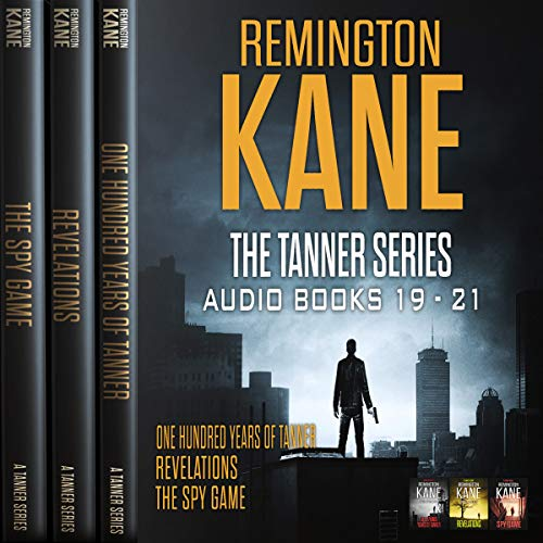 The Tanner Series - Books 19-21 audiobook cover art