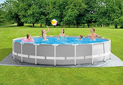 Intex - Juego completo de piscina con pared de acero de 549 x 122 cm