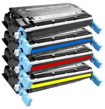 4er SET High Quality Eurotone Toner Cartridge XXL remanufactured für HP Color Laserjet 3800 3800N 3800DN 3800DTN + CP3505 CP3505N CP3505DN CP3505X – alternative ersetzt HP Q6470A Q7581A Q7582A Q7583A - XLsatz – Black Cyan Magenta Yellow