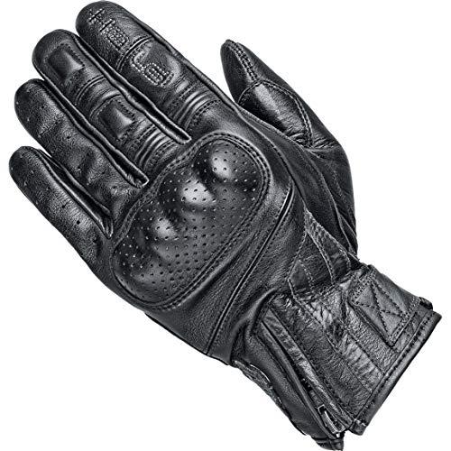 Held Motorradhandschuhe kurz Motorrad Handschuh Paxton Handschuh schwarz 10, Herren, Chopper/Cruiser, Sommer, Leder