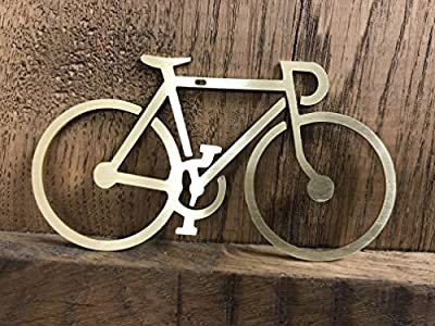 Brass Bicycle Christmas Tree Decoration Ornament