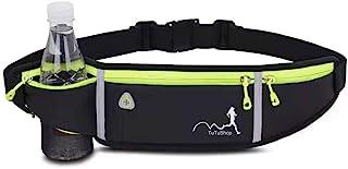 TuTuShop - Riñonera para correr, ligera, ajustable, con correa elástica, soporte para teléfono, riñonera de entrenamiento ...