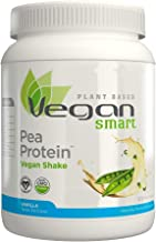 Naturade Plant Based VeganSmart Vegan Pea Protein – Vanilla – 20.63 oz