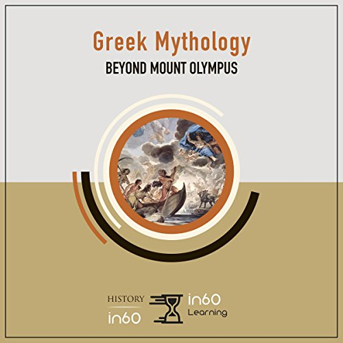 Greek Mythology audiobook cover art