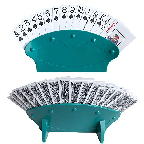 Playing Card Trays 2PCS Per Set Yuanhe Hands Free Playing Card Holders