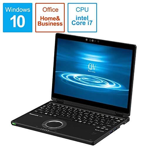 パナソニック CF-QV8PFNQR Let`s note QV8 店頭(Core i7-8565U/SSD512GB/W10Pro64/12.0WQXGA+/ブラック/OFHB2019/LTE)