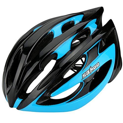 JM- Fahrradreithelm Mountainbike einteiliger Helm Männliche und weibliche Reithutausrüstung Zubehör Schutzhelm