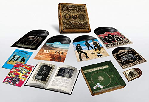 Ace Of Spades (40Th Anniversay Box Set 1 Lp Singolo + 3 Lp Doppi + 1 Ep + Dvd..)