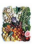 Fruits Vegetables Produce Colorful Healthy Rainbow Photo Cool Wall Decor Art Print Poster 12x18