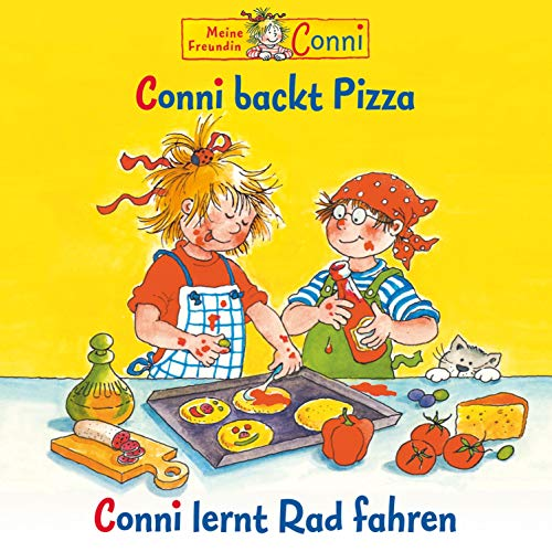 Conni backt Pizza / Conni lernt Rad fahren Titelbild