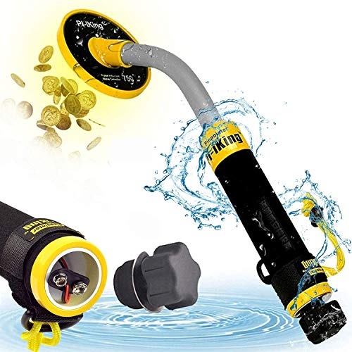 KECOP 750 Underwater Metal Detector with Vibration and LCD Detection Indicator - PI Waterproof Probe Pulse Induction Technology Metal Detector Handheld