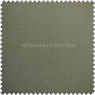 Yorkshire Fabric Shop Neue Strukturierte Innendekoration Qualität Stahl Grau Farbe weicher Flor Moleskin Effekt Samt Vorhänge Möbelstoff, B01M4Q90Q0  Neuartiges Design