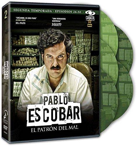 Pablo Escobar. El Patrón Del Mal Temporada 2 [DVD]