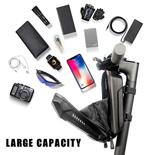 Scooter Tasche für Roller, Faireach Rollertasche Front Tube Bag Groß Lenkertasche Wasserfest, Vordertasche für Elektroroller Xiaomi MI Mijia M365 Sedway NinebotE ES1/ES2/ES3/ES4 - 6