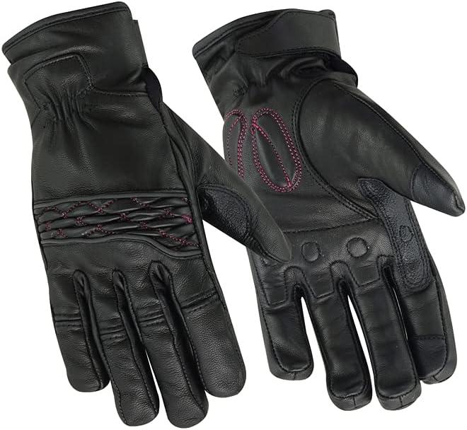 Daniel Smart Women's Women's Cruiser Glove (Black/Pink)