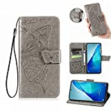ESONG Case for Meizu 18 Pro 5G Case,Embossed Butterfly