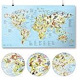 Golf Weltkarte | AWESOME MAPS | Entdecke die 400 beliebtesten Golfplätze der Welt