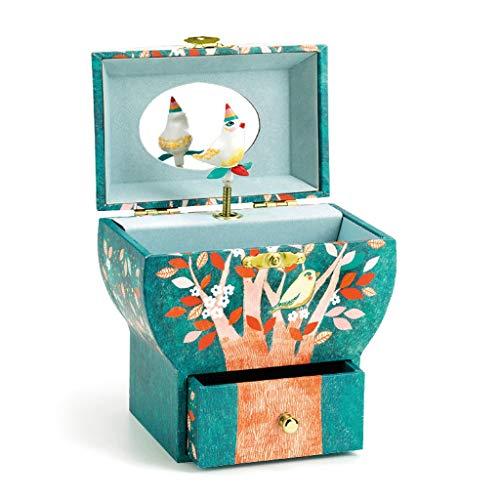 SHUMACHENG2020 Caja Musical Regalo La Caja de música Caja de música de Baile giratoria Adornos de Almacenamiento joyería Creativa de Regalo Caja de música Caja Música (Color : Santa Lucia)