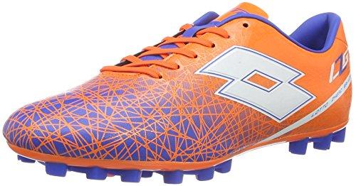 Lotto Sport LZG VIII 700 HG28, Scarpe da Calcio Uomo, Arancione (Fant FL/Wht), 45 EU