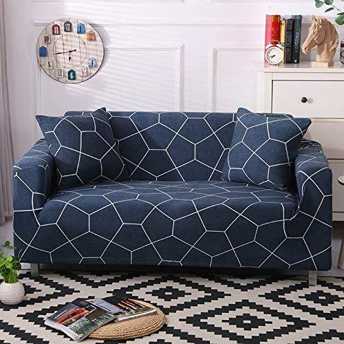 Funda de sofá elástica Moderna Funda de sofá Fundas de sofá Fundas de sofá Fundas de sofá para Sala de Estar A11 2 plazas