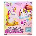 It's So Me! Paint Your Own Unicorns by Horizon Group USA, Paint & Decorate 2 Plaster Unicorns, Includes 6 Acrylic Paints, 5 Metallic Paints, Gemstones, Glitter, Sticker Sheet, Paint Brush & More by Horizon Group USA