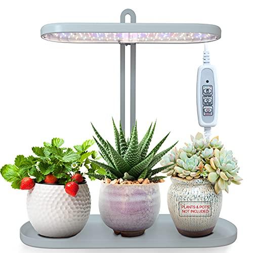 HyGarden Grow Light, Grow Lights for Indoor Plants, Indoor Garden, Plant Light, Grow Lights, Led Grow Lights, Plant Grow Lights Indoor with Timer (Flowerpots Not Included)