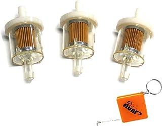 HURI 3x Kraftstofffilter Benzinfilter Aufsitzmäher Rasentraktor viele Motoren Ersetzt Briggs & Stratton 691035 493629 695666 AM1008356