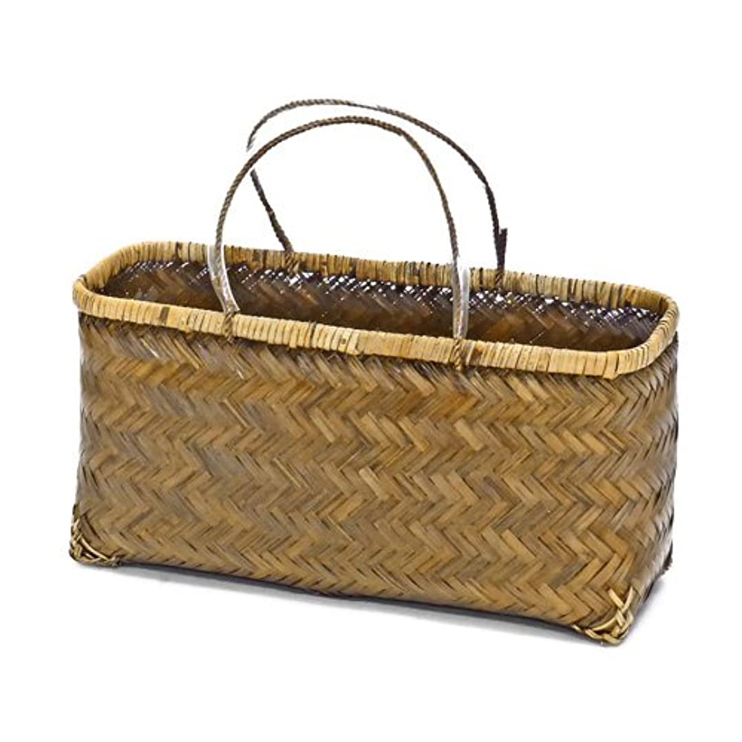 質量おもちゃSP-447 竹 かご 市場かご 手提げ ミニバッグ かごバッグ 買い物かご 趣味 アレンジ