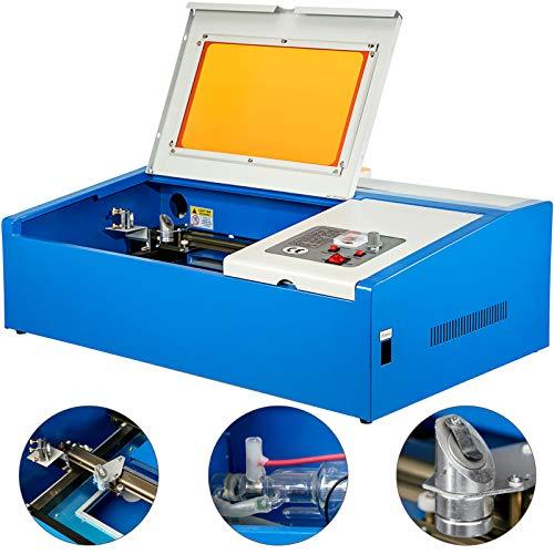 VEVOR Grabador de Láser 40 W Máquina de Grabado Láser de CO₂...