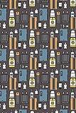 Vape Pattern - E-Cigarette Decoration 04: Graph Paper 5x5 Notebook for Vaper and Steamer