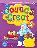 Sounds Great 5, Children's Phonics for Reading - Double-Letter Vowel Sounds (with 2 Hybrid CDs)
