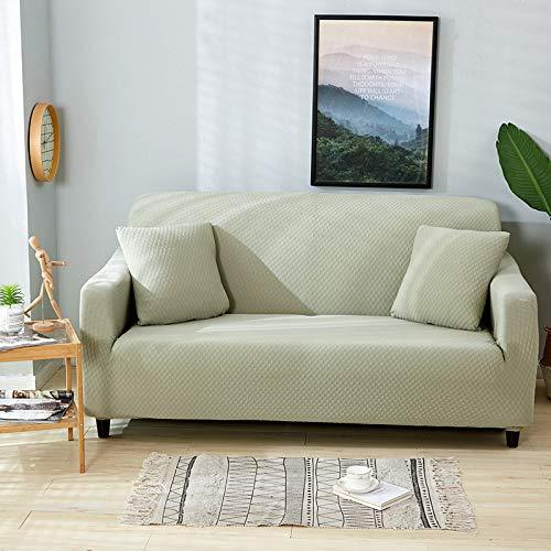 KTUCN Fundas para sofá, Fundas elásticas elásticas Impermeables para sofá, Fundas Gruesas y Modernas para sofá, Funda Protectora para Muebles, Verde, 3 Seater 190-230cm