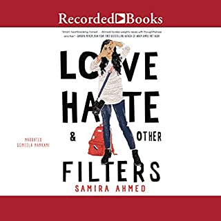 Love, Hate & Other Filters audiobook cover art