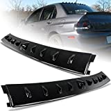 HK5 Glossy Black Vortex Shark Rear Roof Spoiler Wing Compatible with 2002-2007 Mitsubishi Lancer EVO