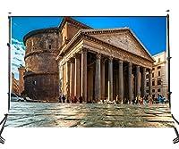 lylycty 10× 7ftポリエステルクラシック建物写真バックドロップPantheonローマの景色背景スタジオ小道具107–340