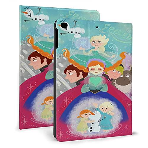 Funda para iPad Air 1/2, Corazón Fro-Zen Happy O-Laf Funda protectora de cuero, Tablet Ipad 2017/2018 Carcasas 9.7 pulgadas