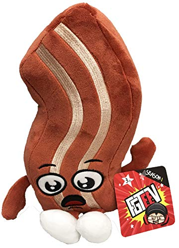 Bonker's YouTube Youtubers 8' Plush Derpy Bacon Toy - Onlywholesale Exclusive.