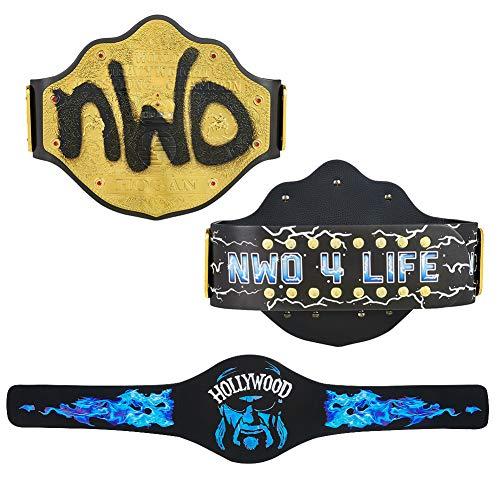 WWE Authentic Wear Hollywood Hogan Signature Series Championship Replica Title Belt Multi