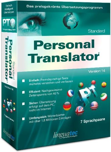 Personal Translator 14 Standard