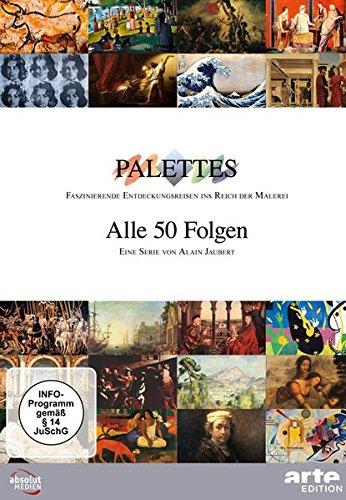 Palettes - alle 50 Folgen [17 DVDs]