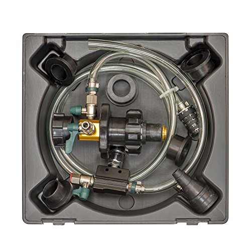 OEMTOOLS 24444 System Refiller Kit, 5 Eliminate Trapped Air, and Test Heating Core Lines for Leaks |...