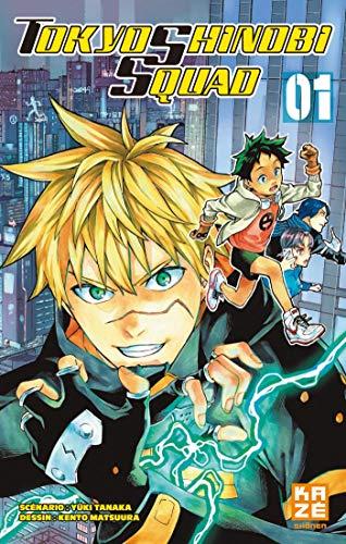 Couverture du livre Tokyo Shinobi Squad Chapitre 1 (SHONEN)