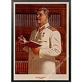 lubenwei Russische Katze Joseph Stalin Porträt Poster