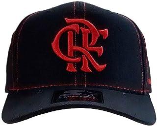Boné Flamengo Infantil CRF Bordado Vermelho Starter