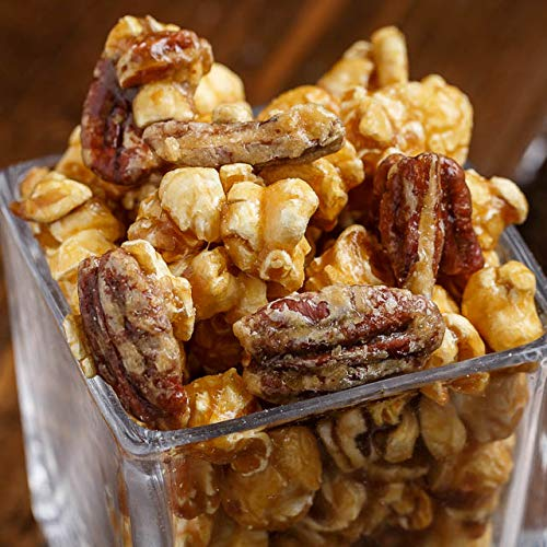 Why Should You Buy 80 Servings, Caramel & Pecan Style - Popped Popcorn, 200 OZ (Bulk Bag, 160 cups)