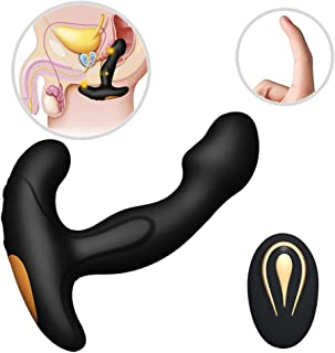 sweet124043 Male P-rostate Massager Man Pennis Clock Ring Men Relaxing Toy Rechargeable Stimulator Massaging Toys Funny Bedroom Toy