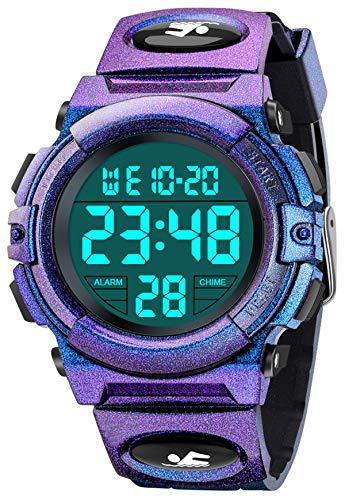 SOKY Spielzeug Mädchen 5-15 Jahre, Lernuhr Kinder Armbanduhr Geschenk für Jungen 6 7 8 9 10 Jahre Kinderuhr 6-15 Jahre Mädchen Spielzeug Spielzeug ab 5-12 Jahren für Jungen Digitale Armbanduhr
